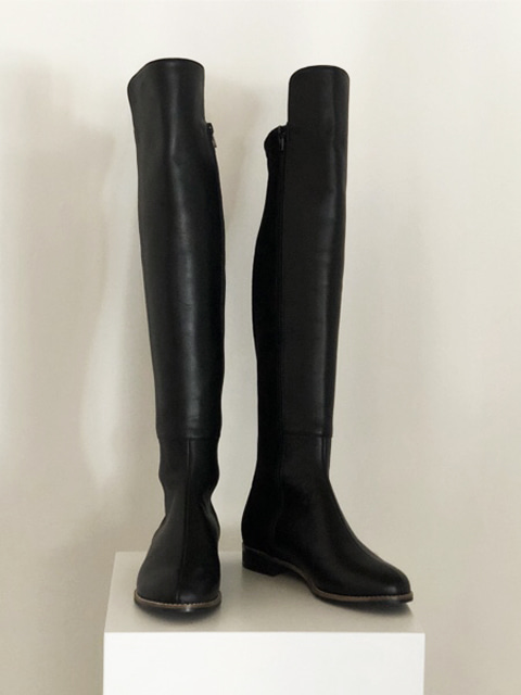 cow long span boots