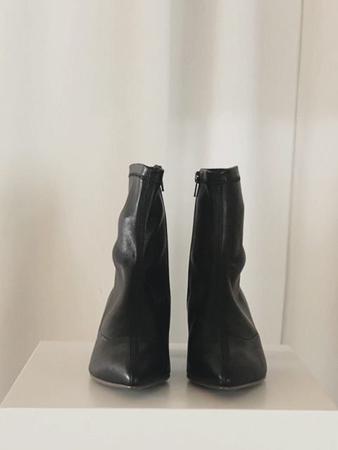 Stretch Lamb Ankle Boots