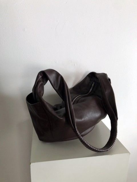 Manoux20 bag_choco brown